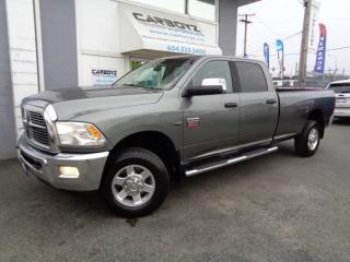 Used 2011 Dodge Ram 2500 SLT 4x4 Crew 8 Ft. Box, Service Records, BC Truck! for sale in Langley, BC