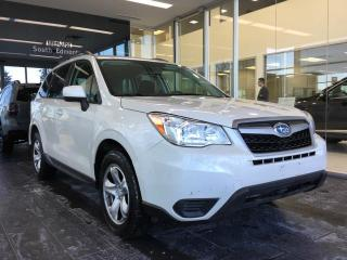 Used 2015 Subaru Forester 2.5i, AWD, ACCIDENT FREE for sale in Edmonton, AB