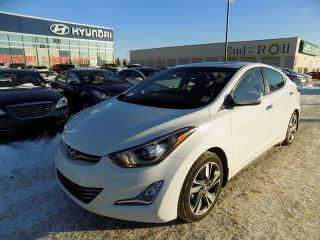 Used 2014 Hyundai Elantra NAV/LEATHER/ROOF/HEATED SEATS for sale in Edmonton, AB