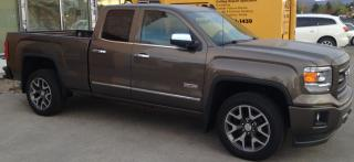 Used 2015 GMC Sierra 1500 SLE ALL TERRAIN for sale in Kelowna, BC