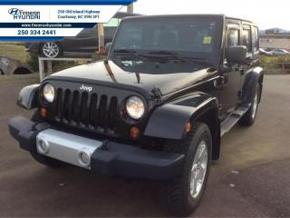 Used 2012 Jeep Wrangler Unlimited Sahara  Trailer Hitch and Wiring for sale in Courtenay, BC