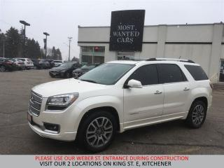 Used 2014 GMC Acadia Denali AWD   NAVIGATION   DVD   CAMERA for sale in Kitchener, ON