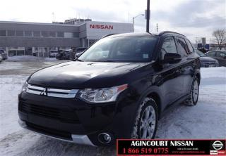Used 2015 Mitsubishi Outlander SE AWC 7 PASS|AWD| BACKUP CAMERA|HEATED SEATS| REM for sale in Scarborough, ON