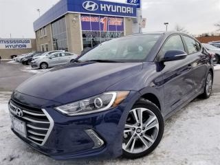 Used 2017 Hyundai Elantra GLS Apple Auto-blind spot detection for sale in Mississauga, ON