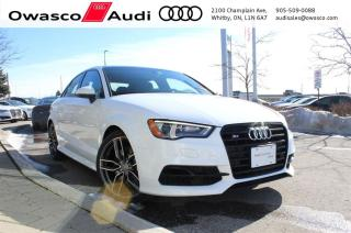 Used 2016 Audi S3 quattro Technik + TECHNOLOGY PKG | HANDLING PKG for sale in Whitby, ON