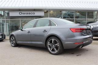 Used 2017 Audi A4 quattro Technik + TOP CAM | NAV | VIRTUAL COCKPIT for sale in Whitby, ON