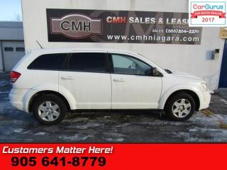 Used 2012 Dodge Journey CVP/SE Plus  (NEW TIRES), 5 PASSENGER, POWER GROUP for sale in St Catharines, ON