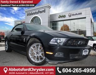 Used 2010 Ford Mustang V6 *ACCIDENT FREE* *LOCALLY DRIVEN* for sale in Abbotsford, BC