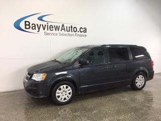 Used 2013 Dodge Grand Caravan SE- ALLOYS|HITCH|STOW 'N GO|3 ZONE CLIMATE|LOW KM! for sale in Belleville, ON