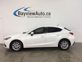 Used 2014 Mazda MAZDA3 - 6 SPEED|ROOF|HTD STS|REV CAM|BLUETOOTH|CRUISE! for sale in Belleville, ON