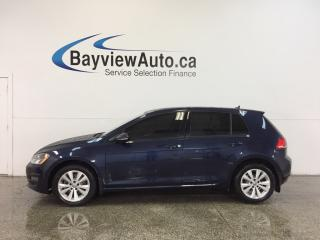 Used 2015 Volkswagen Golf COMFORTLINE- TDI|ALLOYS|TINT|HTD LTHR|REV CAM! for sale in Belleville, ON
