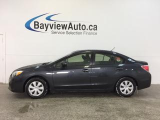 Used 2014 Subaru Impreza - 5 SPEED|AWD|A/C|BLUETOOTH|CRUISE! for sale in Belleville, ON
