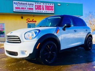 Used 2014 MINI Cooper Countryman Cooper NOW ARRIVED!! LEATHER INTERIOR!! HEATED SEATS!! PANORAMIC ROOF!! BLUETOOTH & SO MUCH MORE!!!! for sale in Bolton, ON