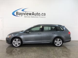 Used 2017 Volkswagen Golf TRENDLINE- AWD|TURBO|HTD STS|REV CAM|BLUETOOTH! for sale in Belleville, ON