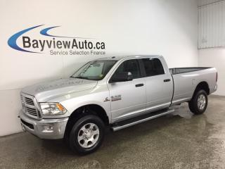 Used 2017 Dodge Ram 2500 SLT- CUMMINS|REM STRT|HITCH|HTD STS|REV CAM|19 KM! for sale in Belleville, ON