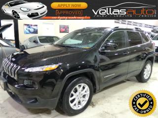 Used 2016 Jeep Cherokee NORTH EDITION  4X4  LEATHER  NAVI READY for sale in Woodbridge, ON