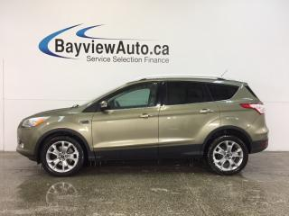 Used 2014 Ford Escape TITANIUM- ECOBOOST PANOROOF HTD LTHR SONY BLIS! for sale in Belleville, ON