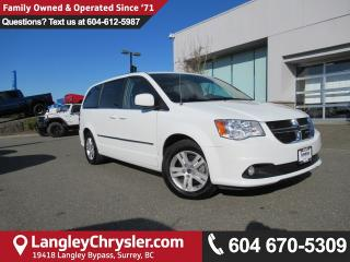 Used 2017 Dodge Grand Caravan Crew <B>*2nd Row STOW 'N GO*POWER GROUP*<b> for sale in Surrey, BC