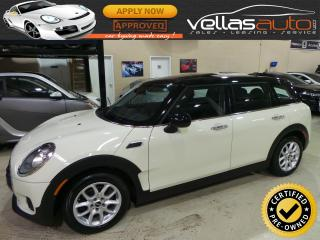 Used 2017 MINI Cooper Clubman PANORAMIC ROOF| LEATHER| HEATED SEATS for sale in Woodbridge, ON