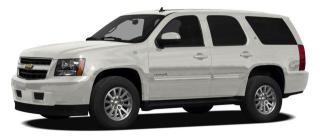 Used 2010 Chevrolet Tahoe Hybrid Base for sale in Port Coquitlam, BC