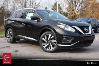 Used 2017 Nissan Murano Platinum AWD CVT for sale in Ajax, ON