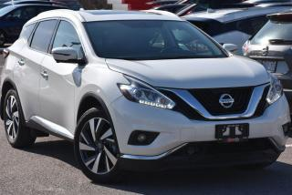 Used 2017 Nissan Murano Platinum AWD ** FULLY LOADED ** DEMO ** for sale in Ajax, ON