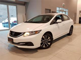 Used 2013 Honda Civic Sdn EX-AUTO-SUNROOF-CAMERA-BLUETOOTH-ONLY 96KM for sale in York, ON