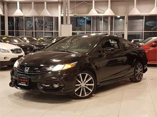 Used 2014 Honda Civic COUPE SI-HFP-6 SPEED-NAVIGATION-CAMERA-ONLY 47KM for sale in York, ON