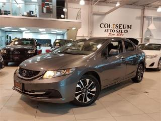 Used 2013 Honda Civic Sdn EX-AUTO-SUNROOF-CAMERA-BLUETOOTH-ONLY 98KM for sale in York, ON