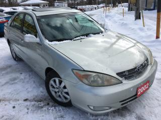 Used 2002 Toyota Camry XLE / Auto / Leather / Sunroof / Alloys / Like NEW for sale in Scarborough, ON