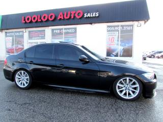 Used 2009 BMW 3 Series 328i MANUAL NAVIGATION CERTIFIED 2YR WARRANTY for sale in Milton, ON