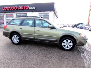 Used 2005 Subaru Outback 2.5i Limited LEATHER CERTFIED AND 2 YEARS WARRANTY for sale in Milton, ON