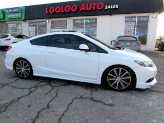 Used 2013 Honda Civic EX-L Coupe NAVIGATION CAMERA CERTIFIED 2YR WAR for sale in Milton, ON