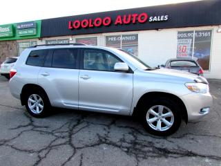 Used 2009 Toyota Highlander Sport 4WD DVD PKG CAMERA CERTIFIED 2YR WARRANT for sale in Milton, ON