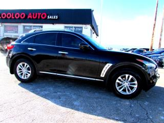 Used 2010 Infiniti FX FX35 AWD NAVIGATION 360 CAMERA DVD CERTIFIED for sale in Milton, ON