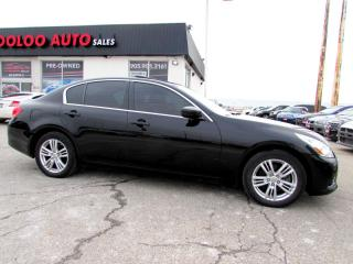 Used 2010 Infiniti G Sedan G37x LUXURY AWD  NAVI CAMERA CERTIFIED 2YR WARR for sale in Milton, ON