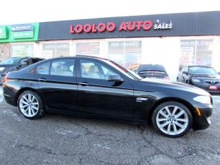 Used 2011 BMW 5-SERIES 535i xDRIVE Sport  DHV  Tech   comfort Pkg for sale in Milton, ON