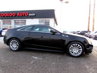 Used 2013 Cadillac CTS COUPE BLUETOOTH LEATHER CERTIFIED 2YR WARRANTY for sale in Milton, ON