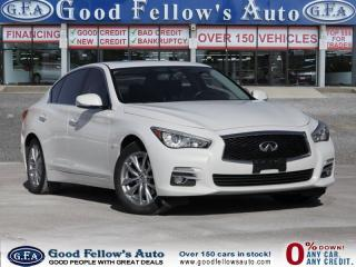 Used 2014 Infiniti Q50 LEATHER SEATS, AWD, SUNROOF, NAVIGATION, 6CYL 3.7L for sale in North York, ON