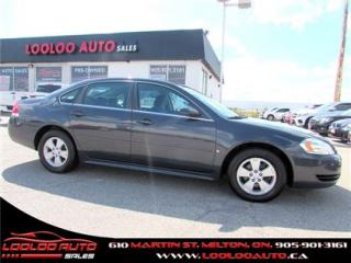 Used 2009 Chevrolet Impala LS AUTOMATIC CERTIFIED 2 YEARS WARANTY for sale in Milton, ON