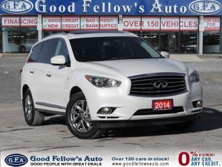 Used 2014 Infiniti QX60 PREMIUM Pkg, AWD, 7 PASS, LEATHER SEATS, SUN ROOF for sale in North York, ON
