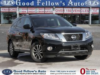 Used 2014 Nissan Pathfinder SL MODEL,FWD,LEATHER SEATS, 7PASSENGER, NAVIGATION for sale in North York, ON