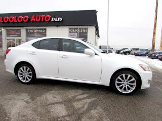 Used 2008 Lexus IS 250 AWD Certified 2 YR Warranty for sale in Milton, ON