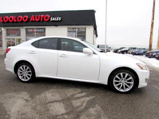 Used 2008 Lexus IS 250 AWD Certified 2 YR Warranty for sale in Milton, ON
