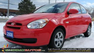Used 2008 Hyundai Accent L|NO ACCIDENT|CERTIFIED for sale in Oakville, ON