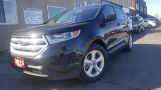 Used 2015 Ford Edge 1 OWNER OFF LEASE-BACK UP CAMERA-BLUETOOTH-ALLOYS for sale in Tilbury, ON