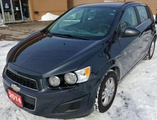 Used 2014 Chevrolet Sonic LT for sale in Hamilton, ON