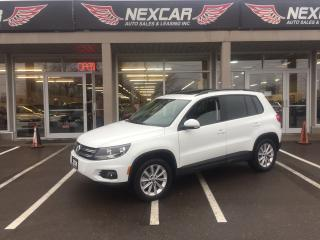 Used 2014 Volkswagen Tiguan 2.0TSI COMFORTLINE AUT0 AWD LEATHER PANO/ROOF 119K for sale in North York, ON