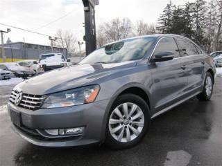 Used 2015 Volkswagen Passat 2.0 TDI DIESEL ~ 42KMS ~ AUTOMATIC ~ LOW KMS !!! for sale in Burlington, ON