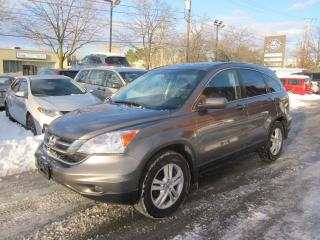 Used 2010 Honda CR-V EX-L for sale in North York, ON